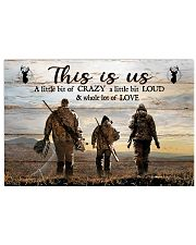 THIS IS US  Horizontal Poster tile