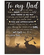 TO MY DAD - MB276 11x17 Poster front