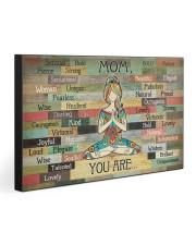 MOM YOU ARE 30x20 Gallery Wrapped Canvas Prints front