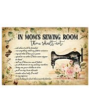 IN MOM'S SEWING ROOM Horizontal Poster tile