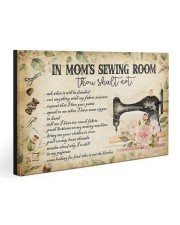 IN MOM'S SEWING ROOM 30x20 Gallery Wrapped Canvas Prints front