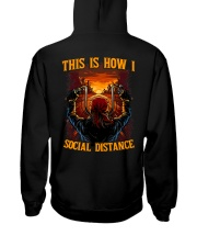 THIS IS HOW I SOCIAL DISTANCE  Hooded Sweatshirt thumbnail