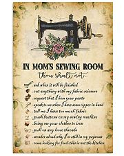 IN MOM'S SEWING ROOM  Vertical Poster tile