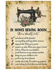 IN MOM'S SEWING ROOM  24x36 Poster front