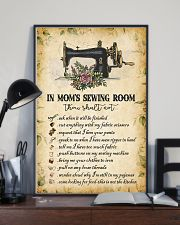 IN MOM'S SEWING ROOM  24x36 Poster lifestyle-poster-2