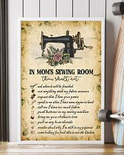 IN MOM'S SEWING ROOM  24x36 Poster lifestyle-poster-4