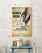 TO MY AMAZING BONUS MOM  24x36 Poster lifestyle-holiday-poster-3