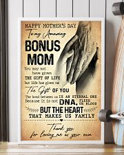 TO MY AMAZING BONUS MOM  24x36 Poster lifestyle-poster-4