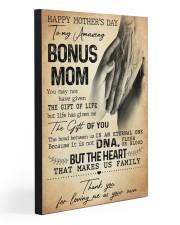 TO MY AMAZING BONUS MOM  20x30 Gallery Wrapped Canvas Prints thumbnail