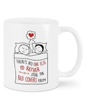 STEAL THE BED COVERS Mug front