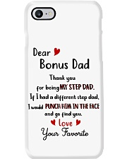TO MY BONUS DAD - MB192 Phone Case thumbnail