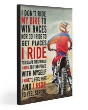 I DON'T RIDE MY BIKE 20x30 Gallery Wrapped Canvas Prints front