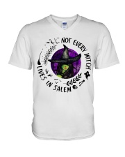 NOT EVERY WITCH LIVES IN SALEM V-Neck T-Shirt thumbnail
