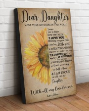 DEAR DAUGHTER  20x30 Gallery Wrapped Canvas Prints aos-canvas-pgw-20x30-lifestyle-front-14