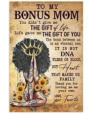 TO MY BONUS MOM  24x36 Poster front