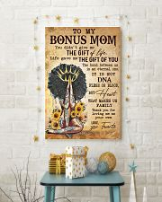 TO MY BONUS MOM  24x36 Poster lifestyle-holiday-poster-3