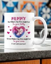 I'LL BE SNUGGLED UP IN YOUR BELLY Mug ceramic-mug-lifestyle-57