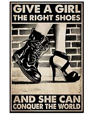 GIVE A GIRL THE RIGHT SHOES Vertical Poster tile