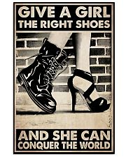 GIVE A GIRL THE RIGHT SHOES 24x36 Poster front