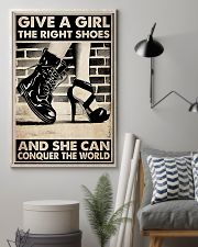 GIVE A GIRL THE RIGHT SHOES 24x36 Poster lifestyle-poster-1