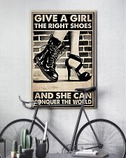 GIVE A GIRL THE RIGHT SHOES 24x36 Poster lifestyle-poster-7
