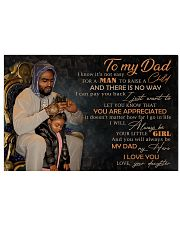 TO MY DAD - MB-216 24x16 Poster front