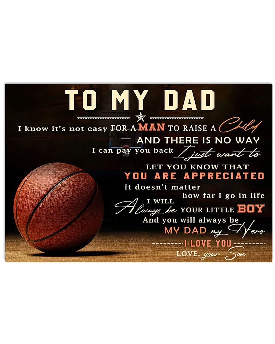 TO MY DAD - MB298 36x24 Poster