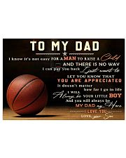 TO MY DAD - MB298 36x24 Poster front