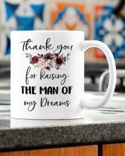 THANK YOU FOR RAISING THE MAN OF MY DREAMS Mug ceramic-mug-lifestyle-57