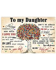 TO MY DAUGHTER - MB361 17x11 Poster thumbnail