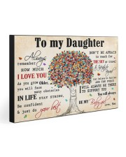 TO MY DAUGHTER - MB361 30x20 Gallery Wrapped Canvas Prints front