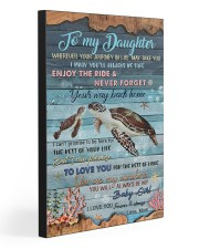 TO MY DAUGHTER  20x30 Gallery Wrapped Canvas Prints front