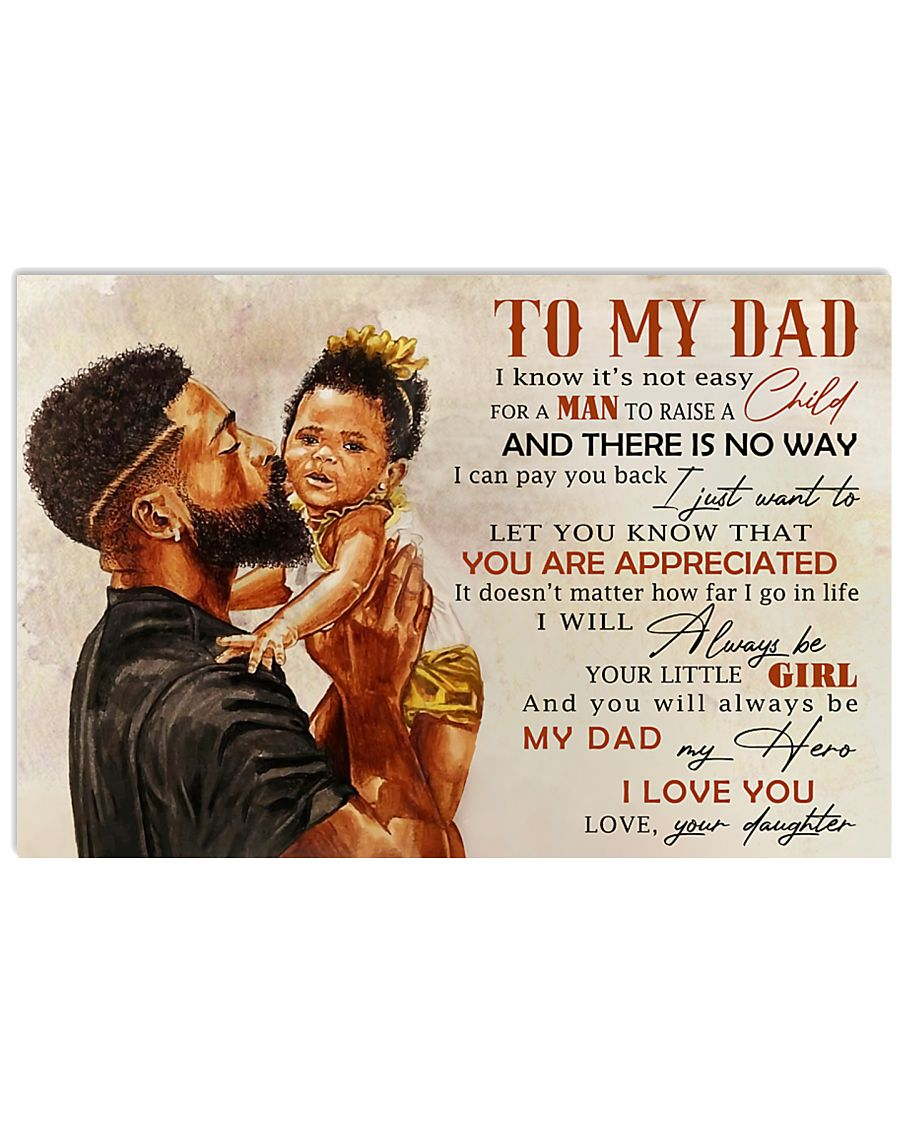 TO MY DAD - MB242 24x16 Poster