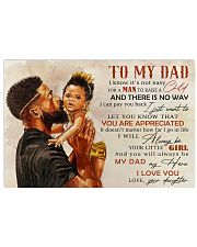 TO MY DAD - MB242 24x16 Poster front