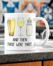 AND THEN THERE WERE THREE  Mug ceramic-mug-lifestyle-57