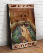 TAKE A BATH YOU DIRTY HIPPIE 20x30 Gallery Wrapped Canvas Prints aos-canvas-pgw-20x30-lifestyle-front-14