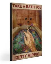 TAKE A BATH YOU DIRTY HIPPIE 20x30 Gallery Wrapped Canvas Prints front