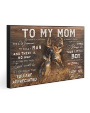 TO MY MOM  30x20 Gallery Wrapped Canvas Prints front