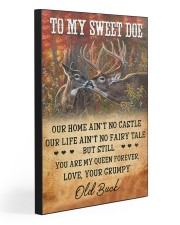 TO MY SWEET DOE 20x30 Gallery Wrapped Canvas Prints front
