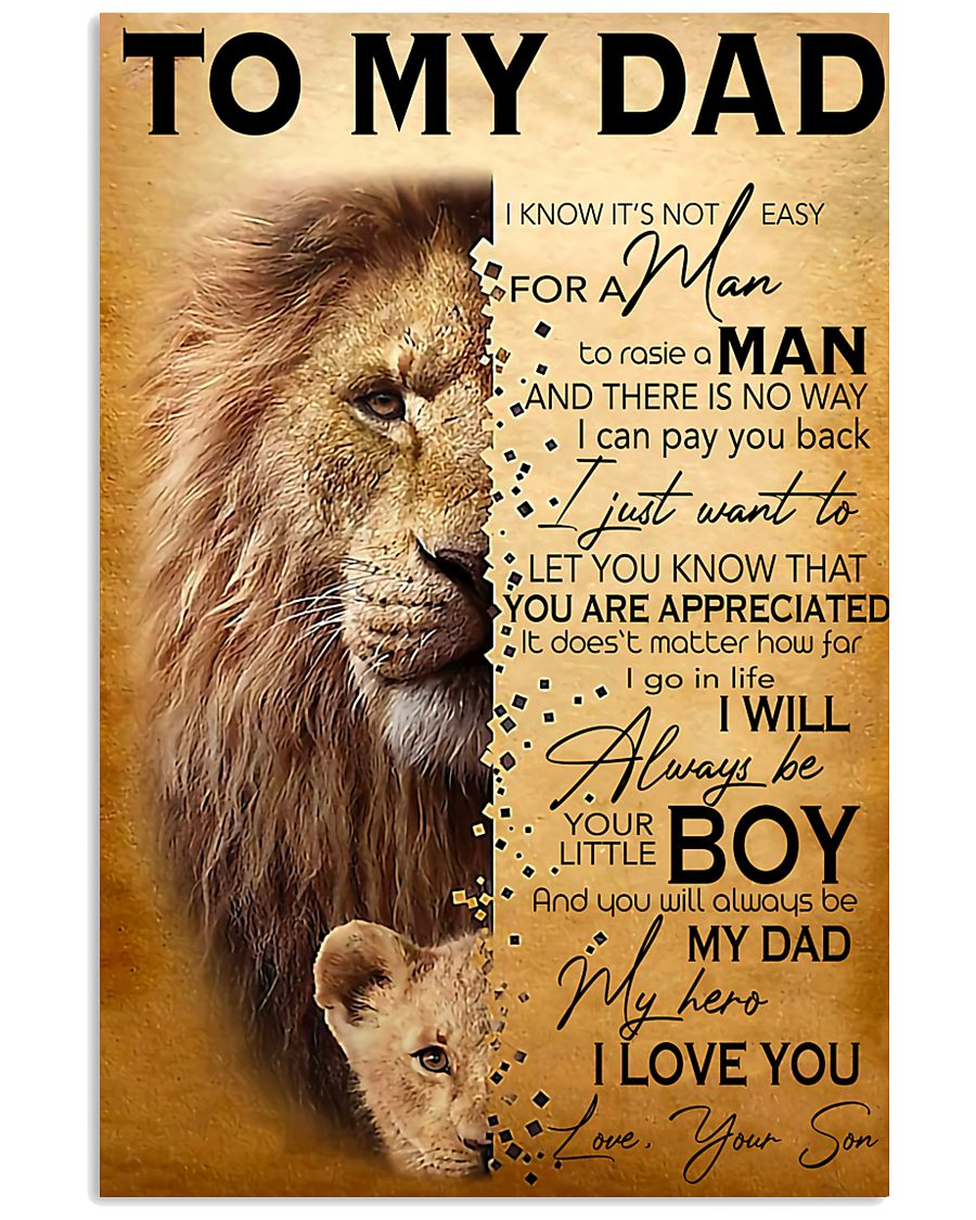 TO MY DAD - MB270 11x17 Poster