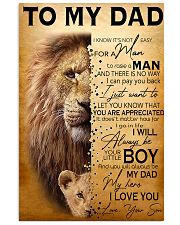 TO MY DAD - MB270 11x17 Poster front