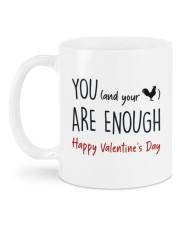 YOU ARE ENOUGH  Mug back