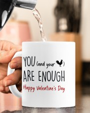 YOU ARE ENOUGH  Mug ceramic-mug-lifestyle-65