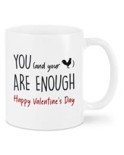 YOU ARE ENOUGH  Mug front