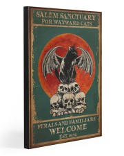 SALEM SANCTUARY FOR WAYWARD CATS 20x30 Gallery Wrapped Canvas Prints front