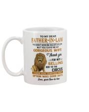 TO MY DEAR FATHER-IN-LAW Mug back