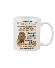 TO MY DEAR FATHER-IN-LAW Mug front