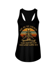 GIVE ME THE STRENGTH Ladies Flowy Tank tile