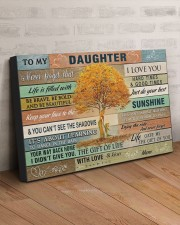 TO MY DAUGHTER - MB357 30x20 Gallery Wrapped Canvas Prints aos-canvas-pgw-30x20-lifestyle-front-07