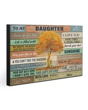 TO MY DAUGHTER - MB357 30x20 Gallery Wrapped Canvas Prints front